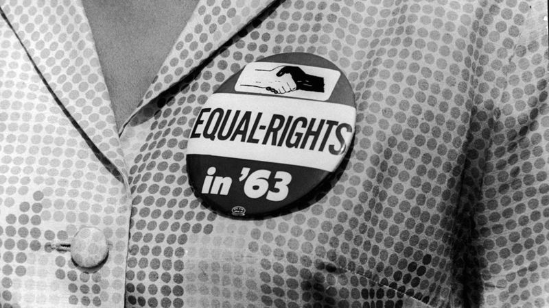 Equal rights campaign badge